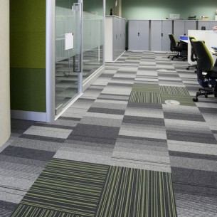 Sheffield Hallam University - balance atomic & strands carpet tiles
