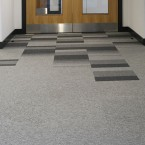 Sheffield Hallam University - balance & balance atomic carpet tiles