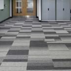 Sheffield Hallam University - balance & balance atomic carpet tiles