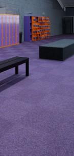 tivoli carpet tile at Jump 4 leisure centre