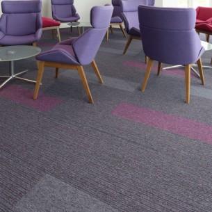 Birmingham Hospital tivoli carpet planks