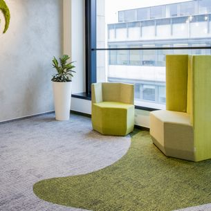 alaska carpet tiles in modern offices