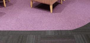 Bolton Hospice - tivoli & hadron carpet tiles