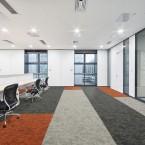 osaka lantern, sumi & sesame carpet tiles