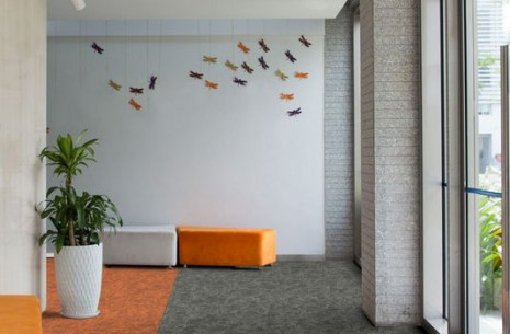osaka lantern & sumi carpet tiles