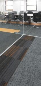 alaska, hadron & tivoli carpet tiles
