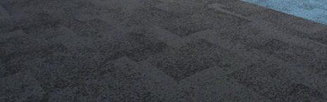 Sheffield Hallam University rainfall carpet tiles