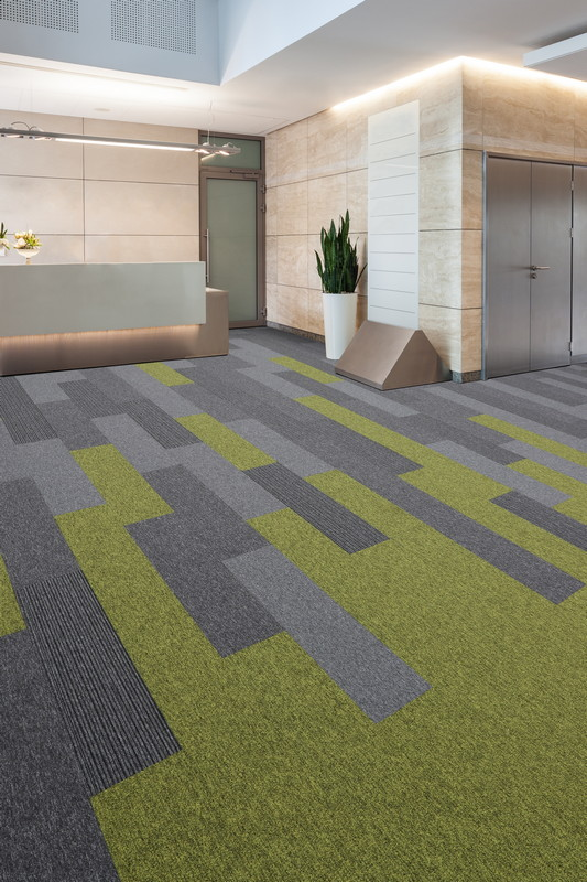 Tivoli Low Level Loop Contract Carpet Planks Burmatex