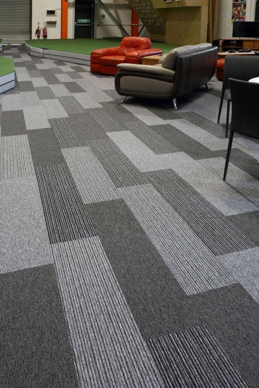 Grey Tivoli Carpet Planks In Leisure Burmatex 174