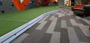 grey tivoli carpet planks in leisure