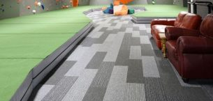grey tivoli carpet planks in leisure