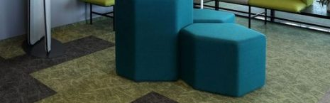 CBRE Gdansk office - osaka & rainfall carpet tiles