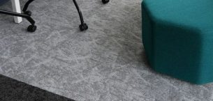 CBRE Gdansk office - osaka & rainfall carpet tiles
