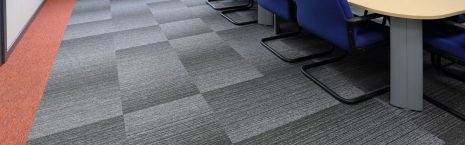 tivoli mist & tivoli carpet tiles in offices