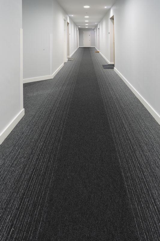 Tivoli Mist Carpet Tiles In The Hub In Manchester Burmatex 174