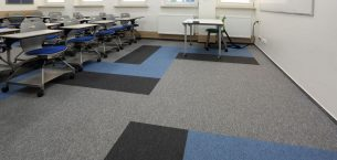 tivoli carpet tiles at university in Poland