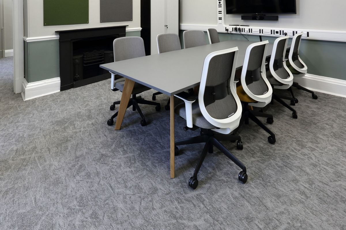 osaka carpet tiles in offices of University of Leeds