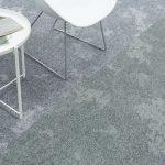dapple carpet tiles airy celadon silver gleam