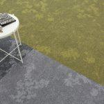 dapple carpet tiles grey zephyr cool breeze golden hour