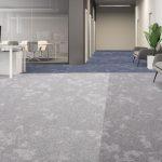 dapple carpet tiles luminous blue cool breeze silver gleam